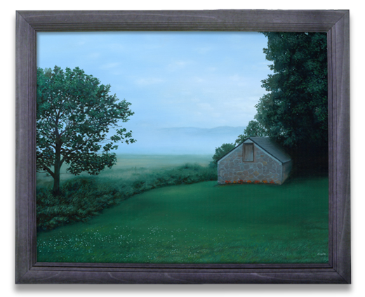 Rolling Fog Oil Painted Landscape blairstown nj